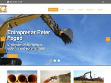 Entreprenør Peter Foged
